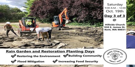 Rain Garden and Restoration Planting Days: Day 3 tickets