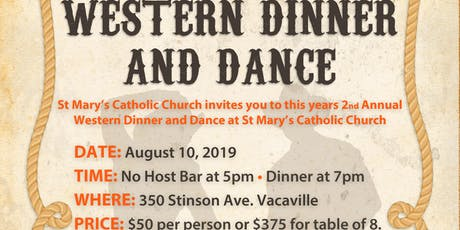 Western Dinner and Dance tickets