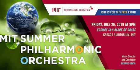 MIT Summer 2019 Philharmonic Orchestra Concert tickets