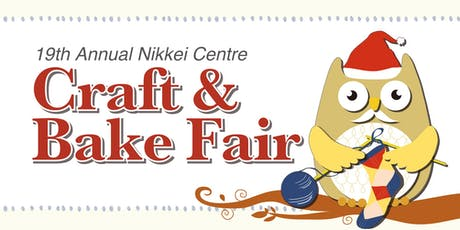 19th Annual Craft & Bake Fair tickets