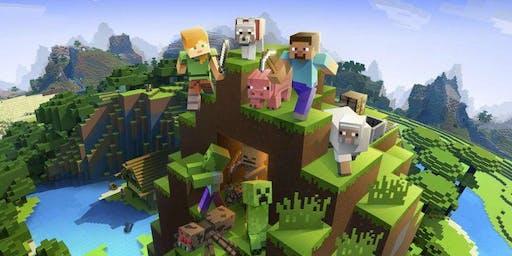 Minecraft Worlds LEGO Workshop - Mill Play Cafe Halifax