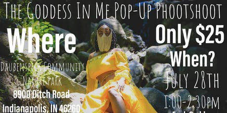 The Goddess In Me Pop-Up Photoshoot tickets