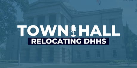 Town Hall on Relocating DHHS tickets