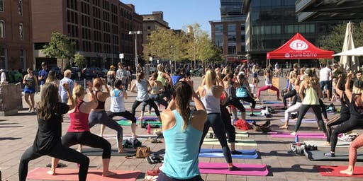 Fitness on the Plaza: Pure Barre
