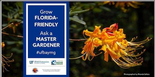 Ask A Master Gardener Booth