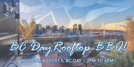 BC Day Community Rooftop BBQ tickets