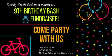 Squeaky Bicycle's Birthday Bash Fundraiser tickets