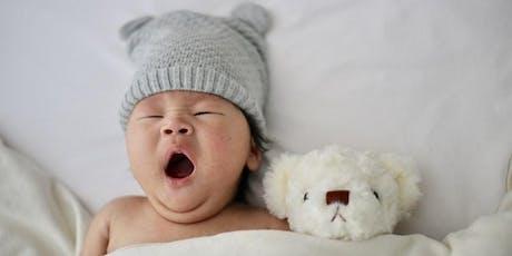 Atelier sommeil bébé 0-12 mois tickets