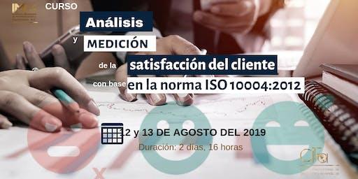 MEDICIÓN DE LA SATISFACCIÓN DEL CLIENTE CON BASE EN ISO 10004:2012