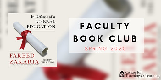 Faculty Book Club: January (Spring 2020)- Thursday 11:30 a.m