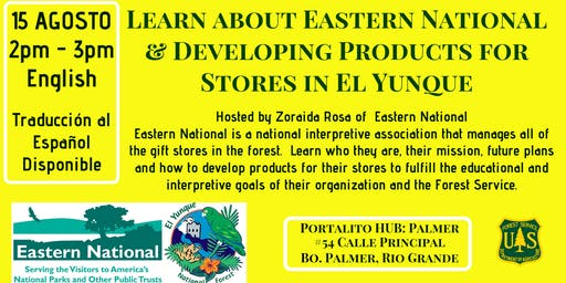 Learn about Eastern National & Developing Products for Stores in El Yunque
