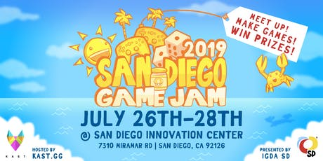 San Diego Game Jam 2019 tickets