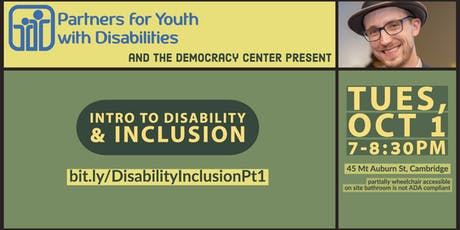 Intro to Disability and Inclusion tickets