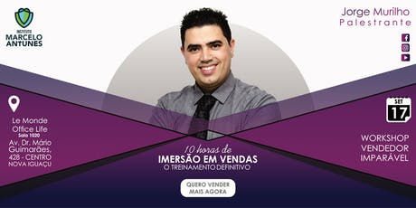 Workshop de Vendas - 10 horas de Imersão: O Treinamento Definitivo ingressos