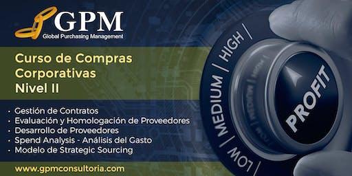 Curso Intensivo de Compras Corporativas - Nivel II (Sede: Santiago)