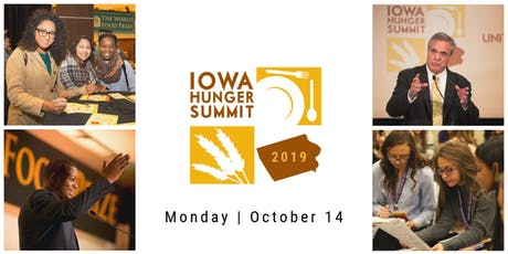 2019 Iowa Hunger Summit tickets