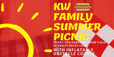 KW Family Summer Picnic tickets