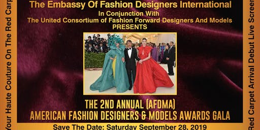 The 2nd Annual American Fashion Designers And Models Awards Gala