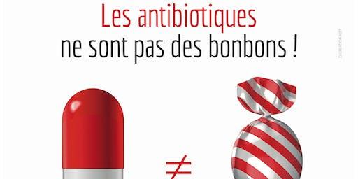 Les antibiotiques en pilules… contre les microbes qui pullulent!