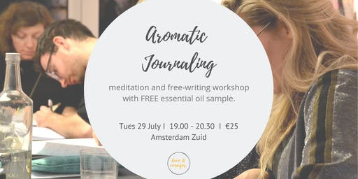 Attune to You: Aromatic journaling workshop