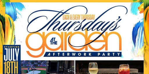 Afterwork Thursdays At The Garden @ Spyce Astoria Every Thursday Afterwork w/Happy Hour  2 for 1 Drinks + Free Admission w/RSVP