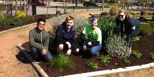 Shawnee Trail Demonstration Garden Work Day