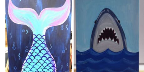Mermaid/Shark Paint Event w/Ariel- Fall River  tickets