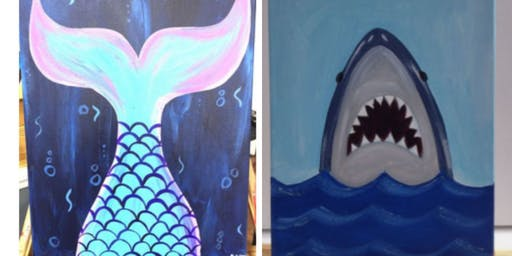 Mermaid/Shark Paint Event w/Ariel- Fall River