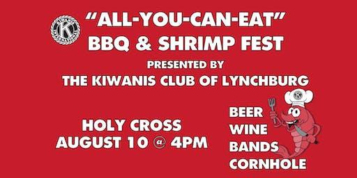 4th Annual Kiwanis Club of Lynchburg BBQ & ShrimpFest