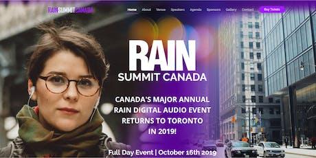 RAIN Summit Canada 2019 tickets