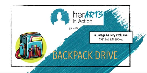 Backpack Fundraiser Happy Hour