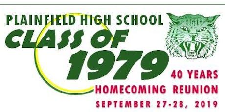PHS Class of 1979 - 40th Reunion tickets