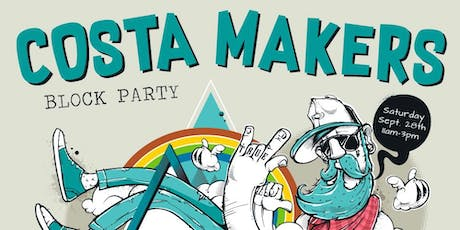 Costa Makers Block Party tickets
