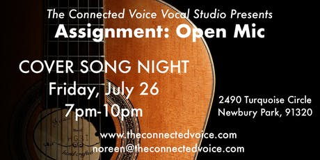 ASSIGNMENT: OPEN MIC - Cover Song Night tickets