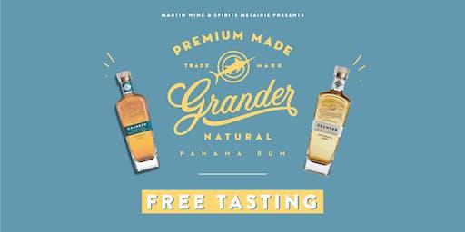 Grander Rum Tasting