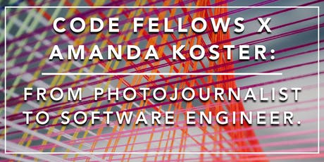 Partner Power Hour: From Photojournalist to Software Engineer. Ask Me Anything tickets