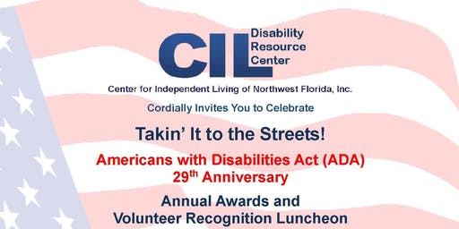 ADA Anniversary Celebration Awards and Volunteer Recognition Luncheon