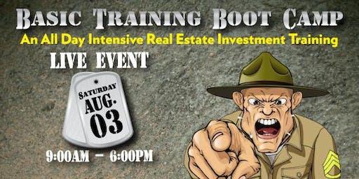 Basic Training Real Estate Boot Camp