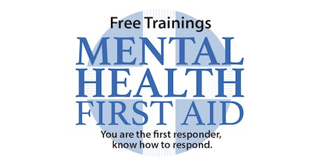 Mental Health First Aid - Youth Version, August 23 tickets