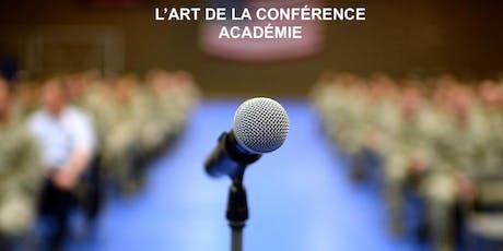 Devenez Top orateur! Cours gratuit Montréal samedi billets