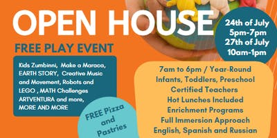 Open House with Fun Family Activities