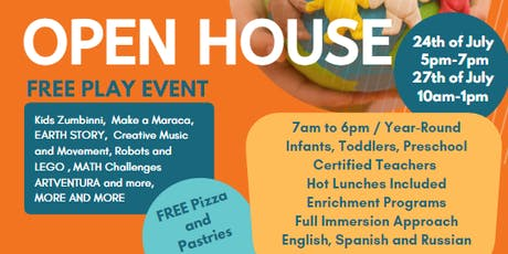 Open House with Fun Family Activities tickets