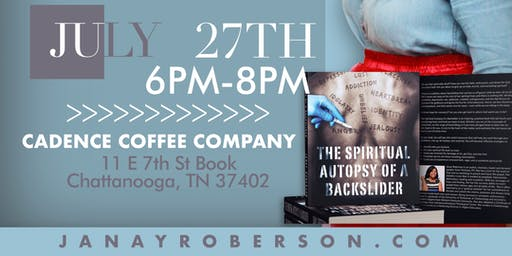 """""""The Spiritual Autopsy of a Backslider"""" Book Release Party"""