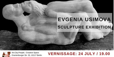 Vernissage of sculpture exhibition / Evgenia Usimova Tickets