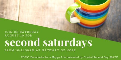 Second Saturdays: Boundaries for a Happy Life  tickets