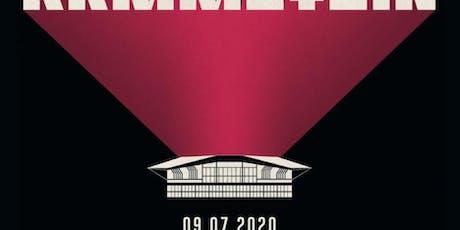 Rammstein Groupama Stadium 9 juillet 2020 billets