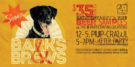 5th Annual Barks & Brews tickets