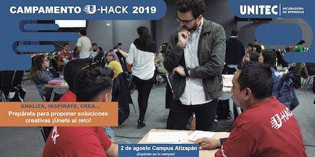 Campamento U-Hack 2019 Atiz entradas