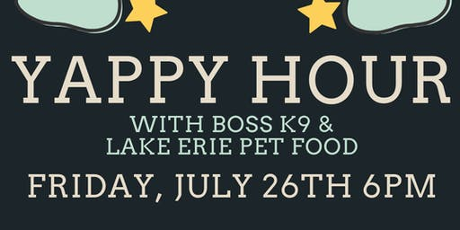 Yappy Hour with Boss K9 at Ohio City Galley