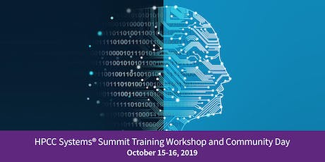 2019 HPCC Systems Summit Community Day tickets